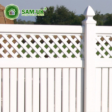 World High Quality Completely solid Weatherable ultraviolet-proof Semi privacy vinyl fencing panels