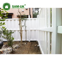 Semi Privacy Vinyl Panel Fence